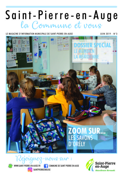 Magazine municipal - numéro 3 - juin 2019